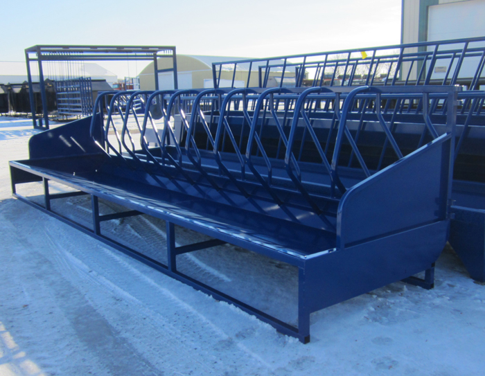 20' Single Sided Super Square Bale Feeder