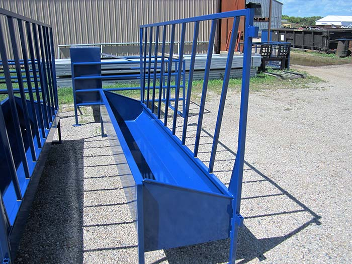 One-Sided Calf Feeder