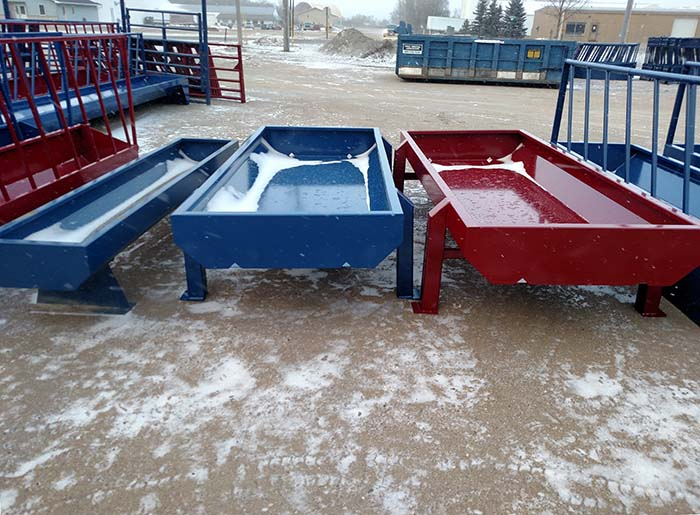 Open Feeder, available sizes: 4' x 10' and 4' x 20'