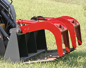 Rock Bucket, Manure Fork with Grapple